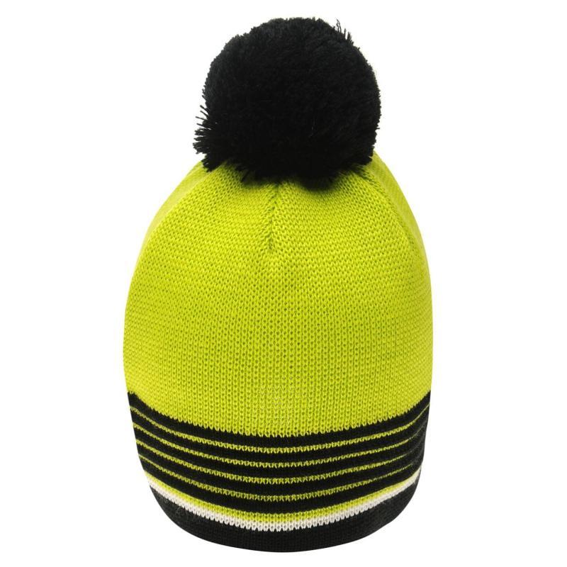 Eisbär Eisbar Harper Beanie Hat Mens Black/Yellow