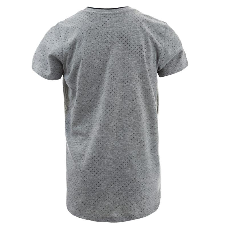 Tričko Le Shark Junior Boys Kingward 2 T-Shirt Grey Marl