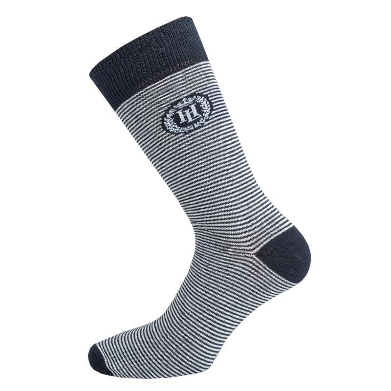 Ponožky Henri Lloyd Mens Keeston Stripe Sock Navy