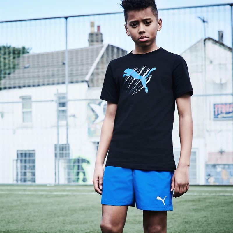 Kraťasy Puma Essential Logo Shorts Junior Boys Red
