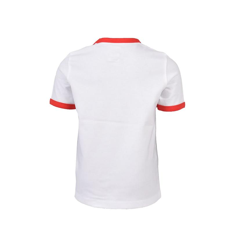 Tričko Franklin and Marshall Retro Tee Bright White