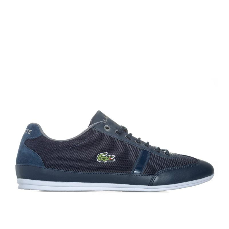 Lacoste Mens Misano Sport 417 1 JD CAM Trainers Navy Grey