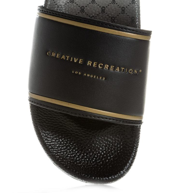 Creative Recreation Mens Venice Fade slides Black