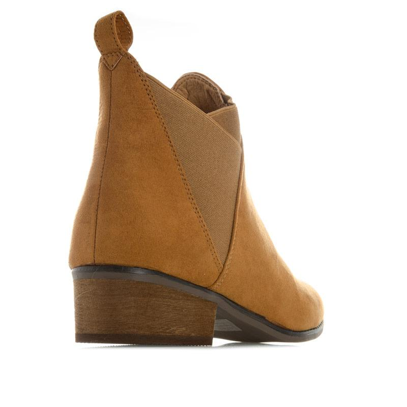 Dolcis Womens Ronni Chelsea Boots Tan