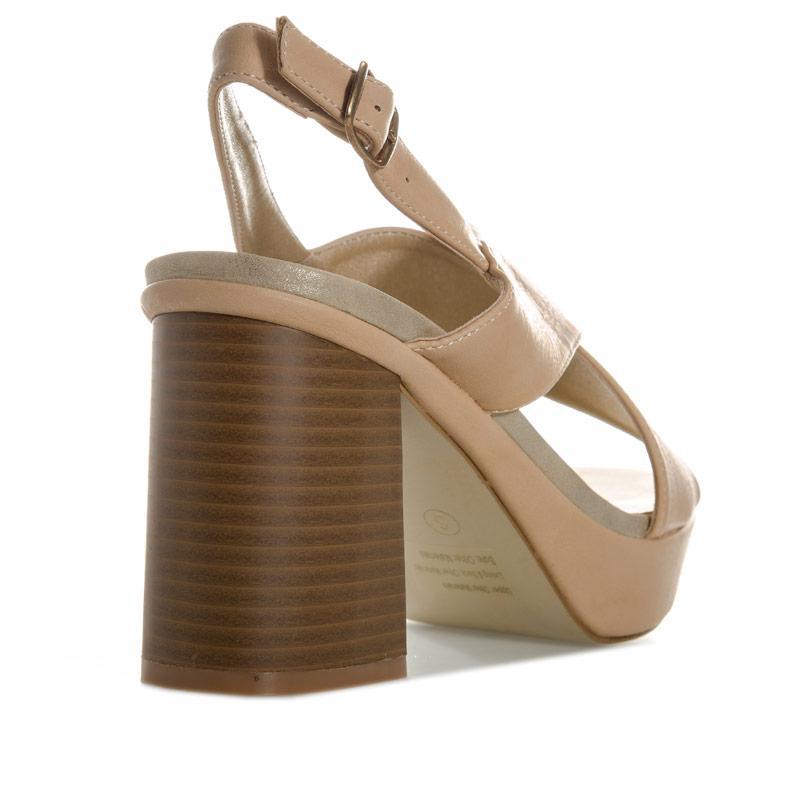 Dolcis Womens Vivian Platform Sandals Beige