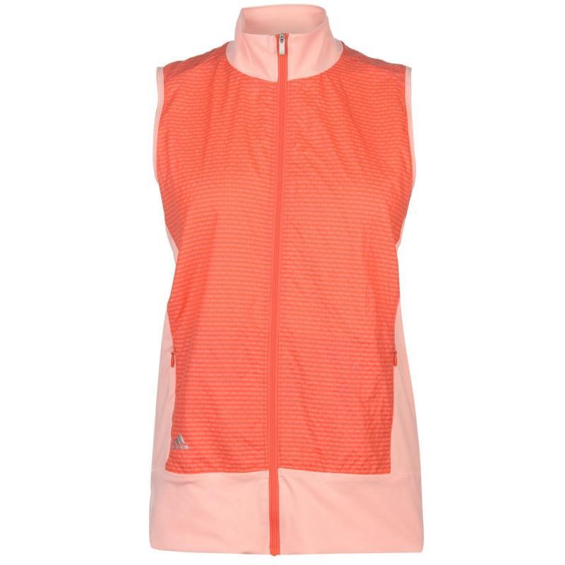 Adidas Technical Wind Vest Ladies Haze Coral