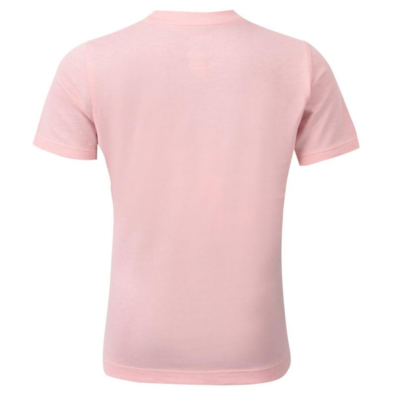 Tričko Franklin and Marshall Logo T Shirt Powder Pink