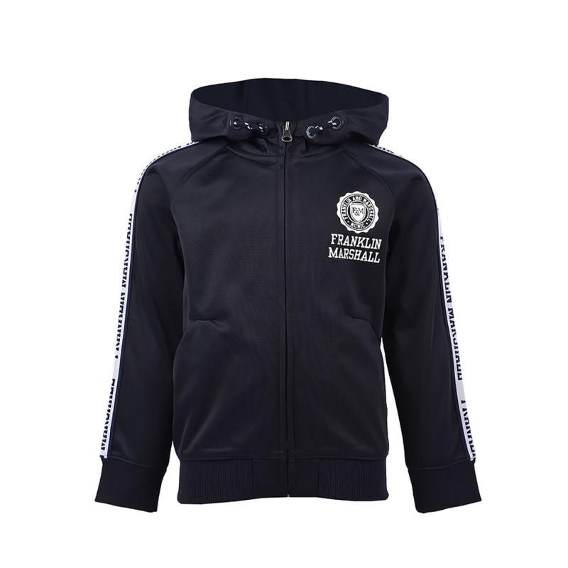 Mikina Franklin and Marshall Tricot Hoodie Navy