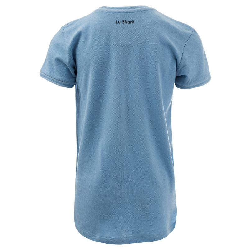 Tričko Le Shark Junior Boys Kingswood 2 T-Shirt Blue