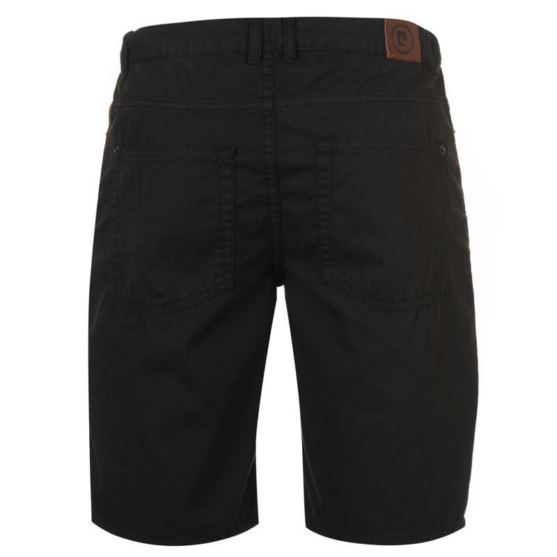 Pierre Cardin 5 Pocket Shorts Mens Black