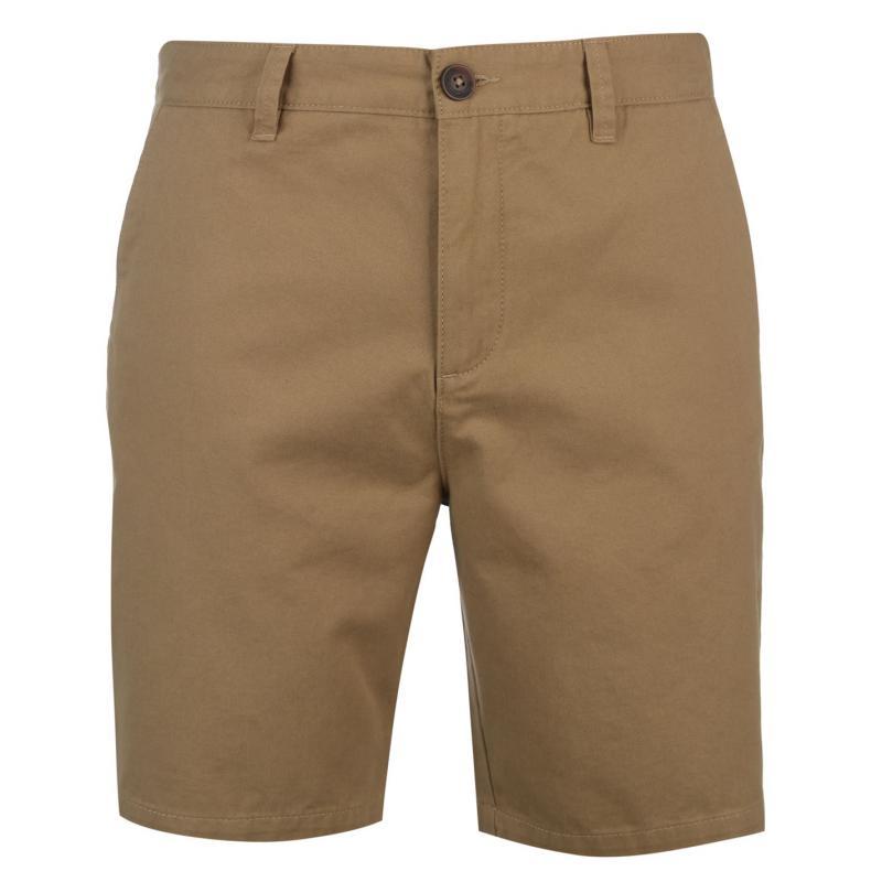 Pierre Cardin Chino Shorts Mens Beige