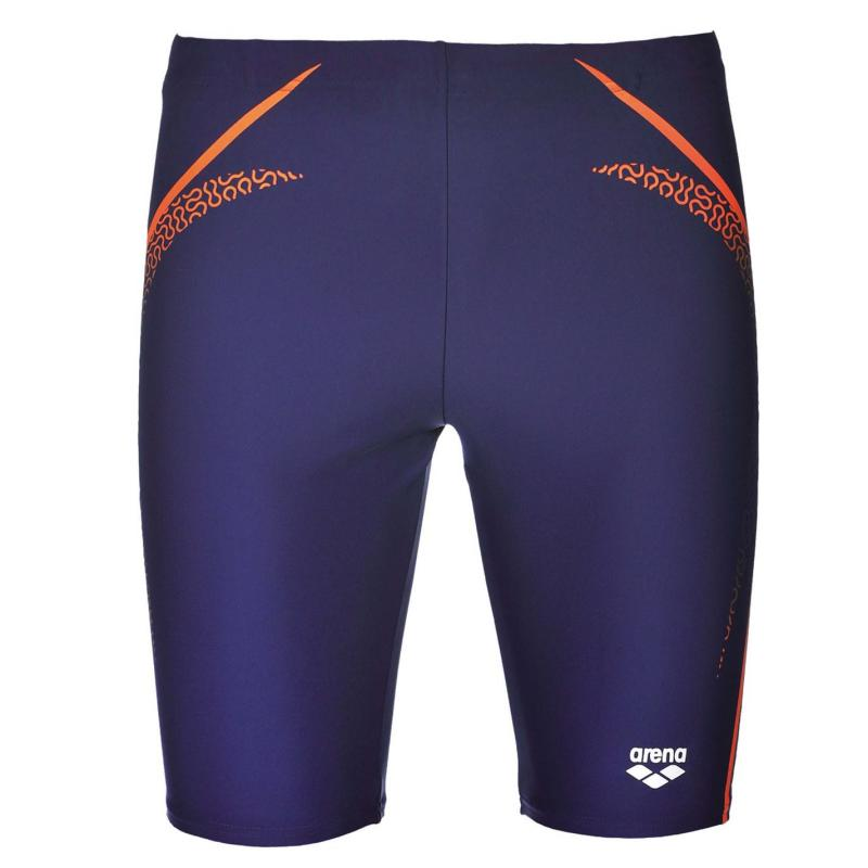 Plavky Arena Modern Jammers Mens Navy/Mango