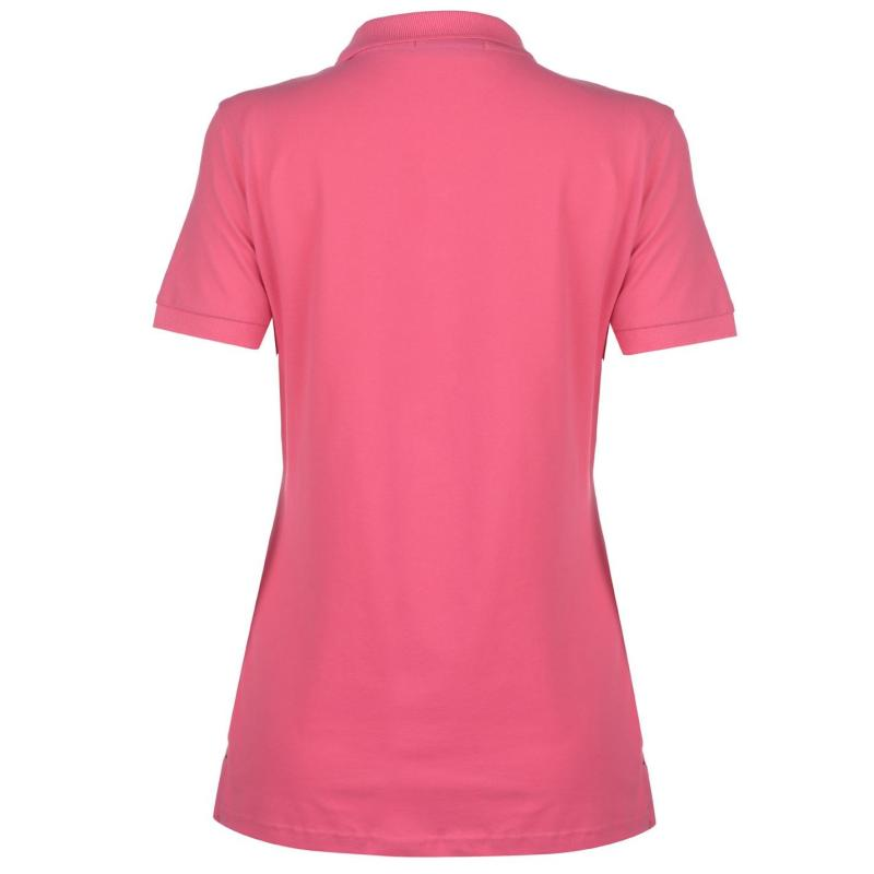 Polokošile Hurlingham Polo 1875 Essential Lulu Polo Ladies Pink