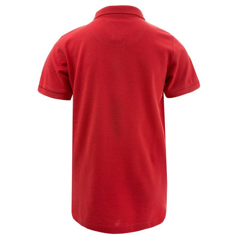 Tričko Le Shark Junior Boys Lax 2 Polo Shirt Red