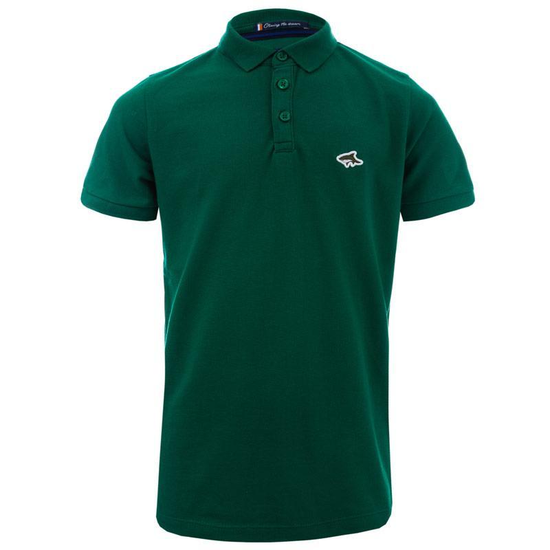 Tričko Le Shark Junior Boys Lax 2 Polo Shirt Green
