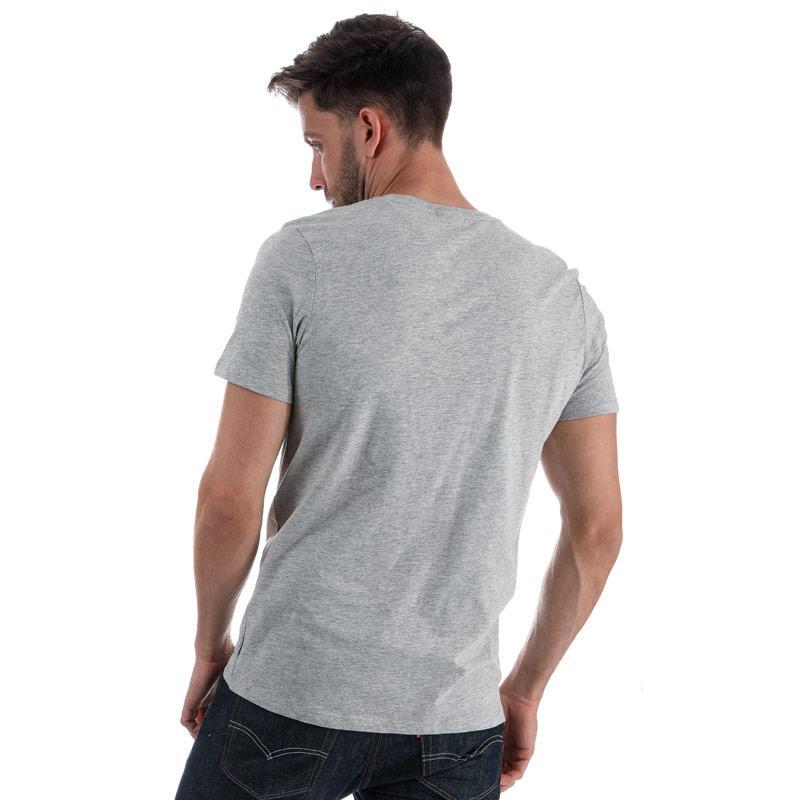 Tričko Jack Jones Mens Fast T-Shirt Grey Marl