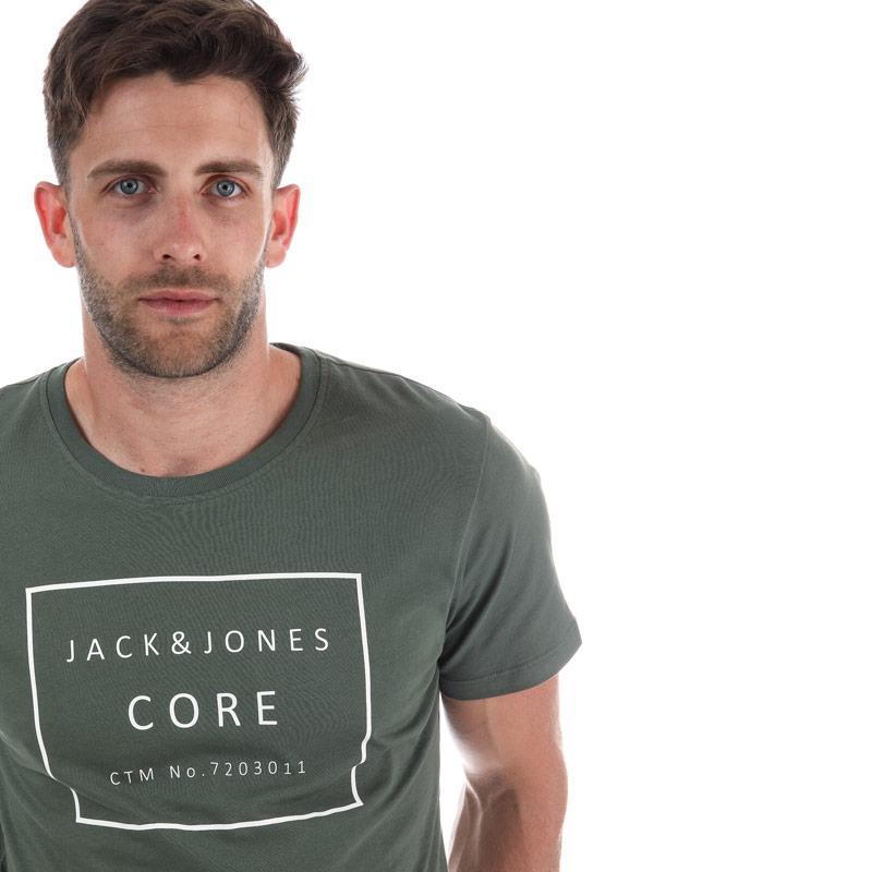Tričko Jack Jones Mens Fast T-Shirt Khaki