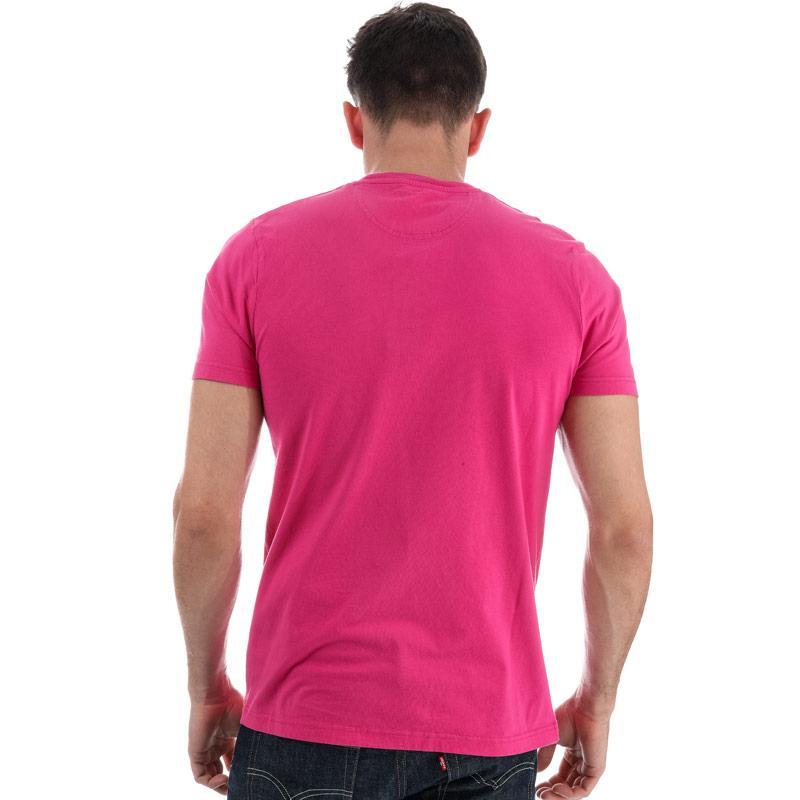Tričko Henri Lloyd Mens Henri Club Regular T-Shirt Coral