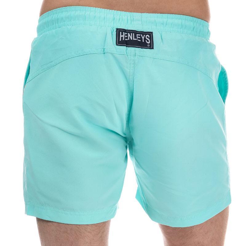 Henleys Mens Pastel Pack Swim Short Mint