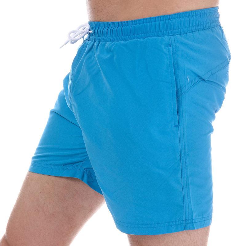 Henleys Mens Plain Pack Swim Short Royal Blue