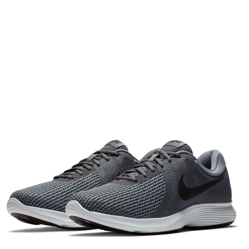 Nike Revolution 4 Men's Running Shoe Grey/Black