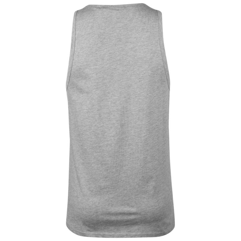 Tílko Pierre Cardin Cut and Sew Taped Vest Mens White/Sky