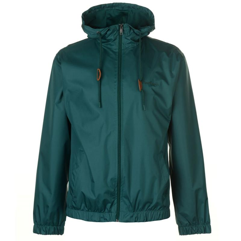 Pierre Cardin Hooded Jacket Mens Green