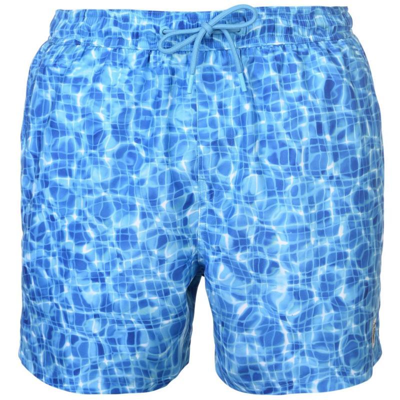 Plavky Pierre Cardin Photo Swimshorts Mens Pool Tiles