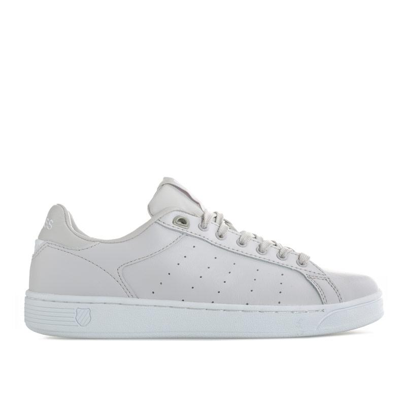 K-swiss Womens Clean Court CMF Trainers Light Grey