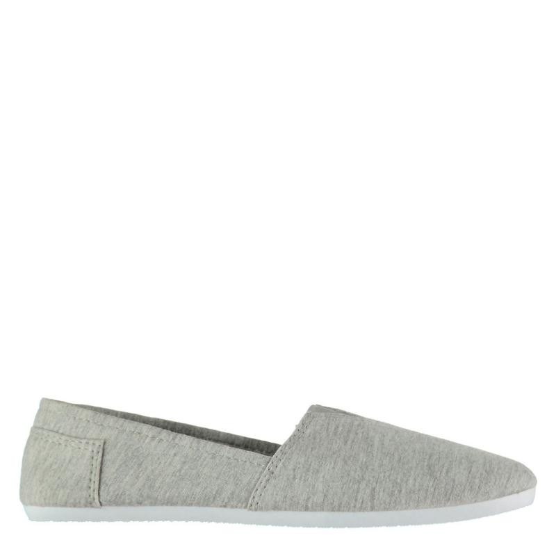 Boty Slazenger Sams Junior Boys Canvas Shoes Grey