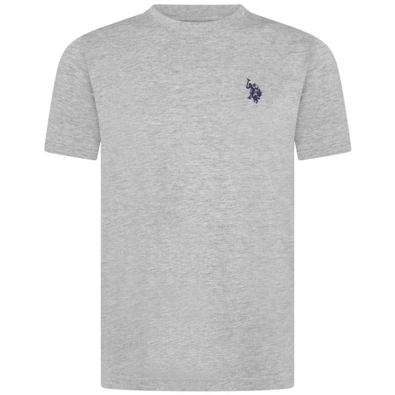 Tričko US Polo Assn Jersey T-Shirt Vintage Grey