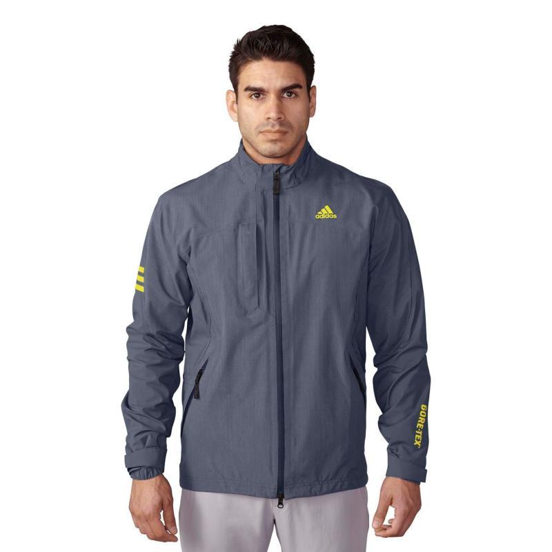 Adidas GTX 2 Layer Jacket Mens Lead Heather