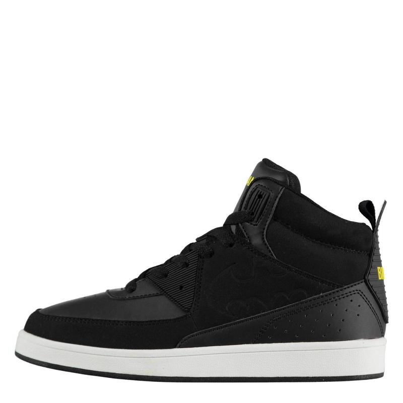 Boty Character Juniors Hi Top Trainers Batman