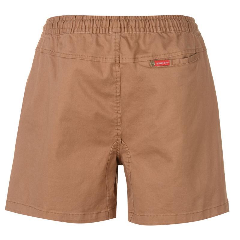 Lee Cooper DC Chino Shorts Mens Coffee