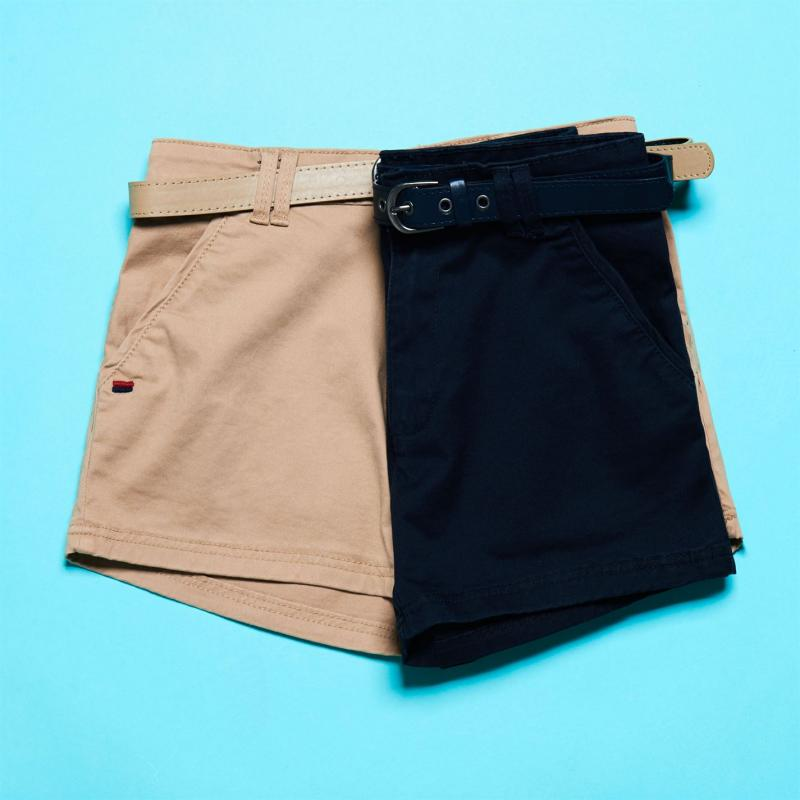 Lee Cooper Essential Chino Shorts Mens Navy