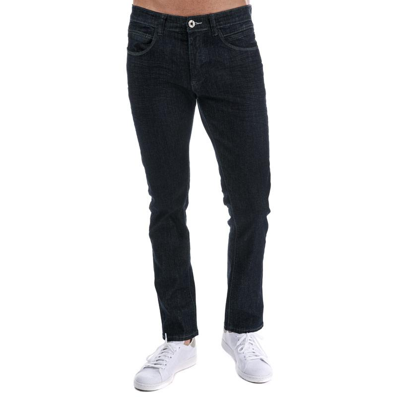 Eto Mens EM595 Reflex Slim Stretch Jeans Dark Blue