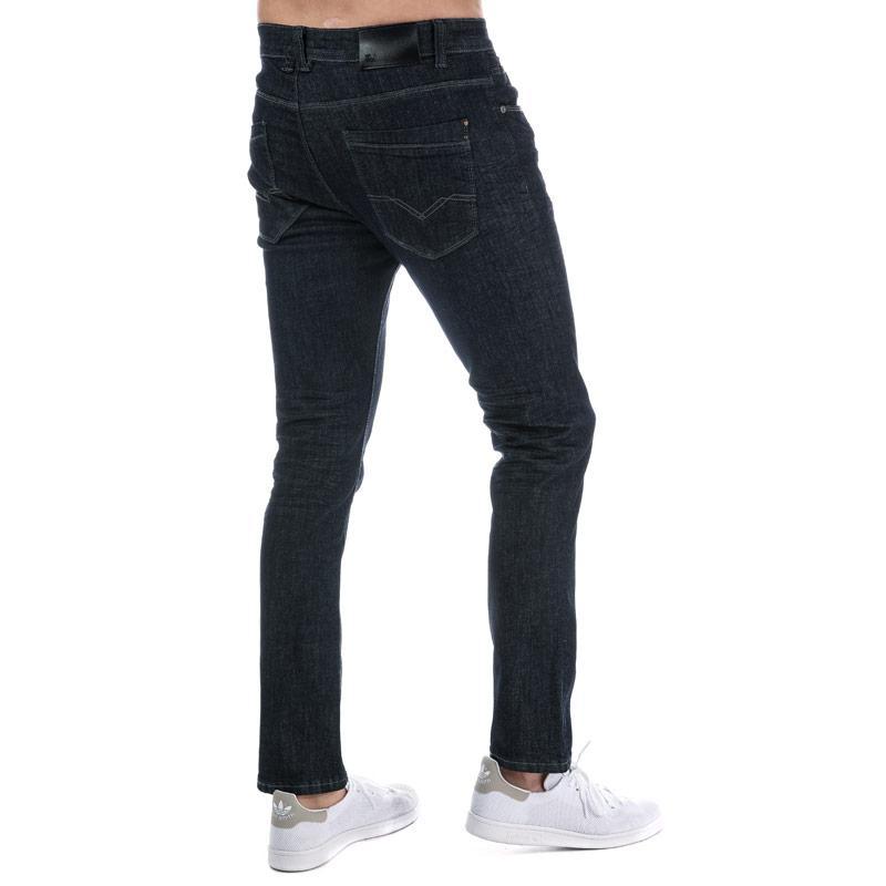 Eto Mens EM595 Reflex Slim Stretch Jeans Dark Blue