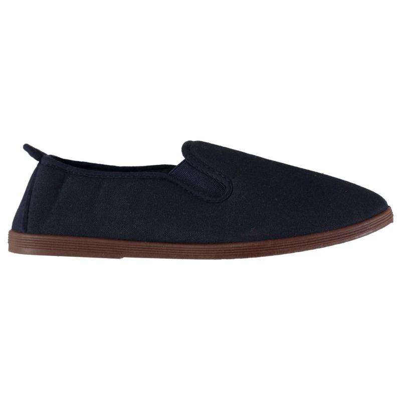 Obuv Slazenger Kung Fu Ladies Canvas Shoes Navy