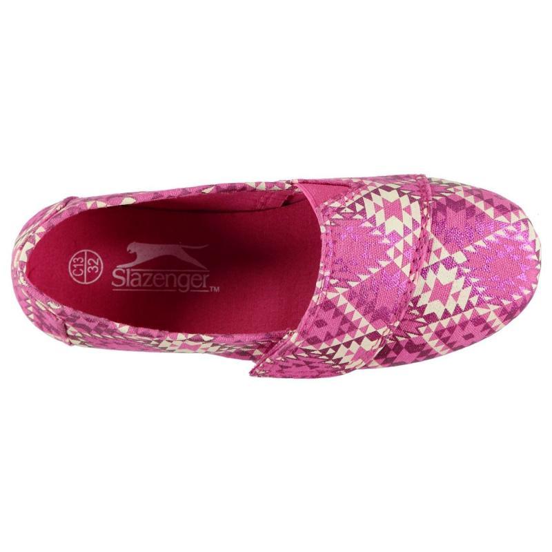 Slazenger Sams Infants Canvas Shoes Pink