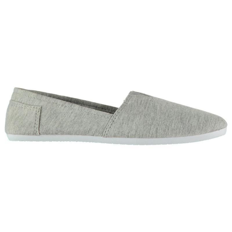 Obuv Slazenger Sams Ladies Canvas Shoes Grey Marl