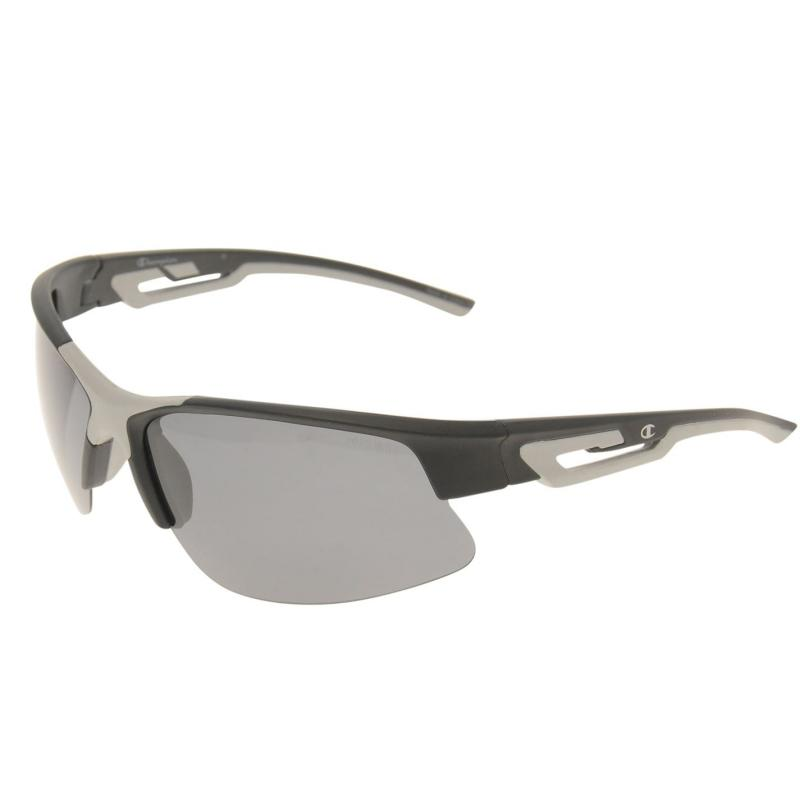Champion CU5098 Sunglasses Mens Matte Trans Blu