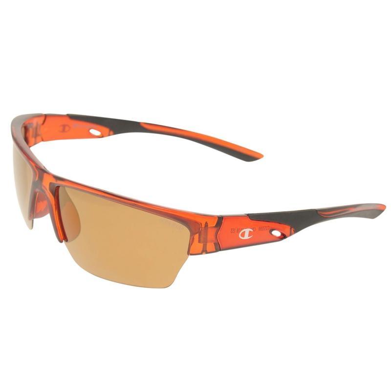 Champion CU5099 Sunglasses Mens Trans Brown