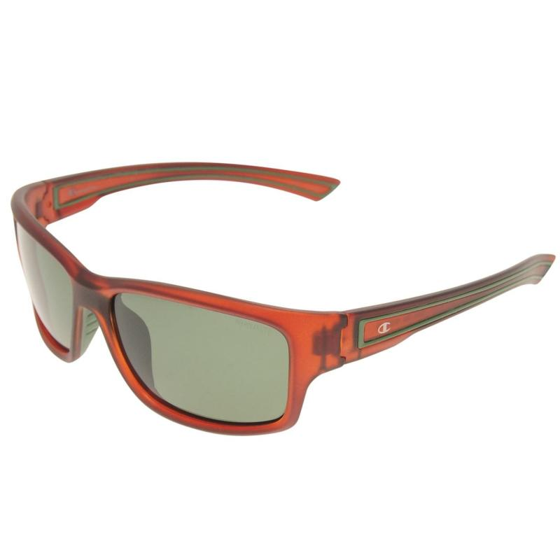 Champion CU5111 Sunglasses Mens Matte Tran Brwn