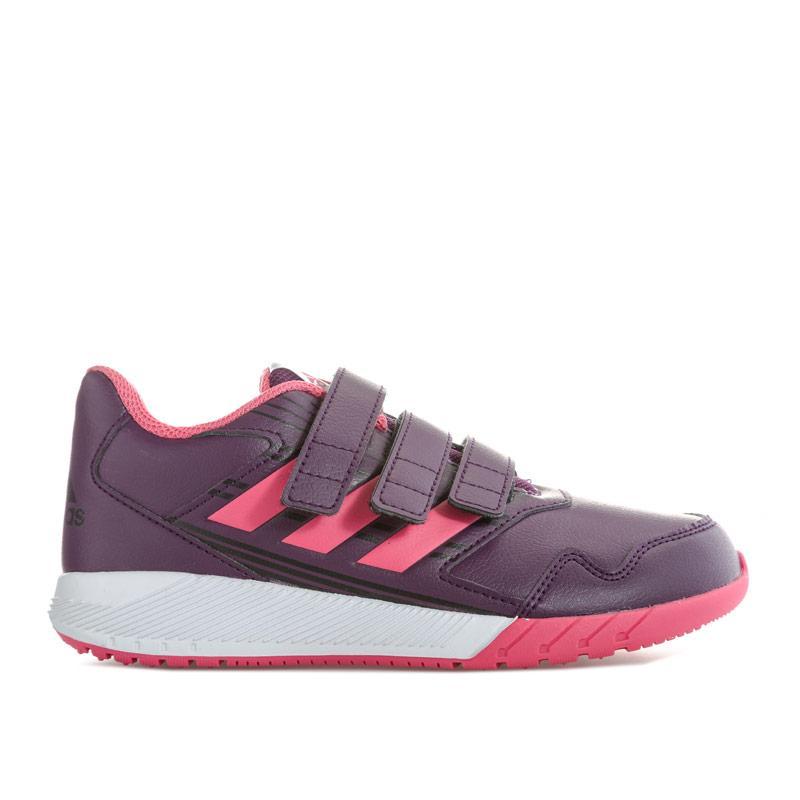 Adidas Performance Junior Girls Altarun Trainers Purple