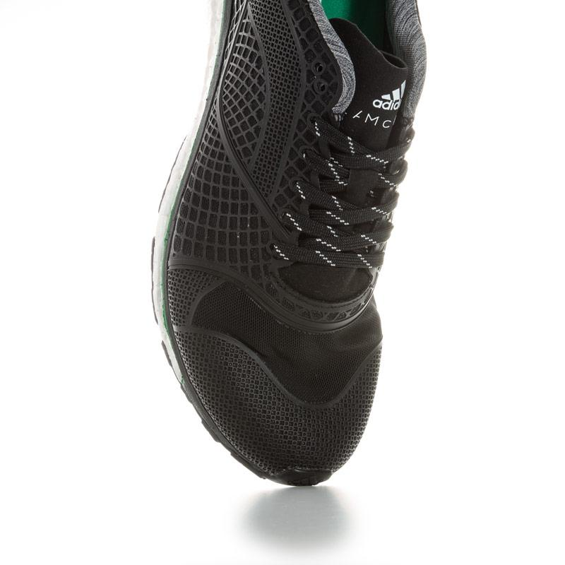 Adidas By Stella McCartney Womens Stella Adizero Adios Running Shoes Black-White