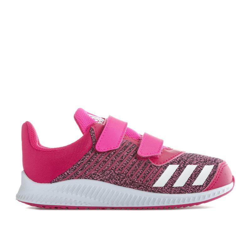 Adidas Performance Infant Girls Fortarun Trainers Pink