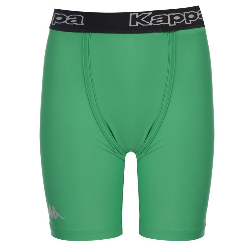 Kappa Kombat Wikom Shorts Junior Boys Green/White