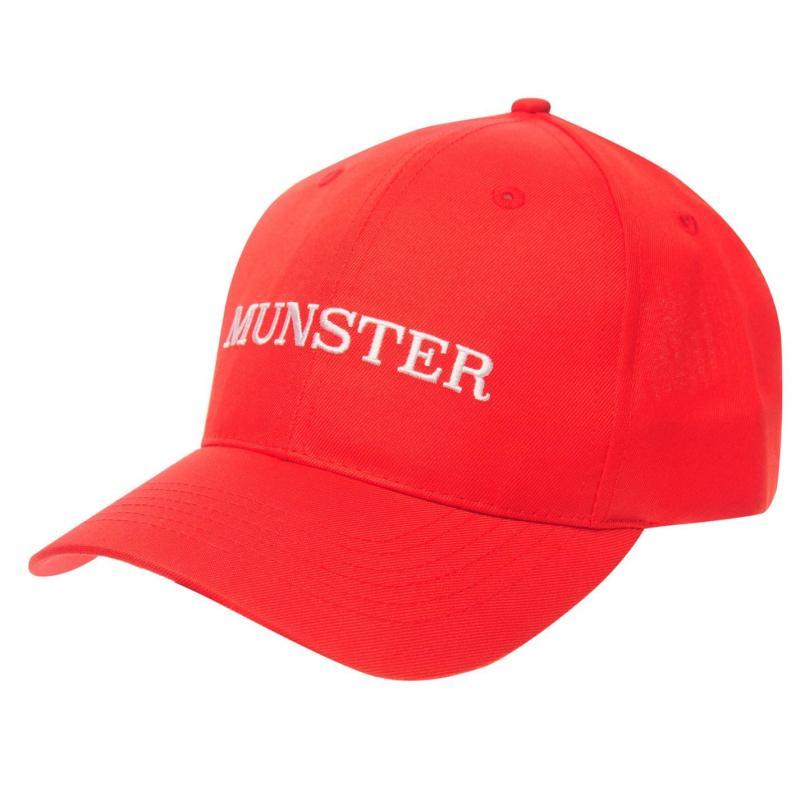 Official Munster Cap Mens Red/White