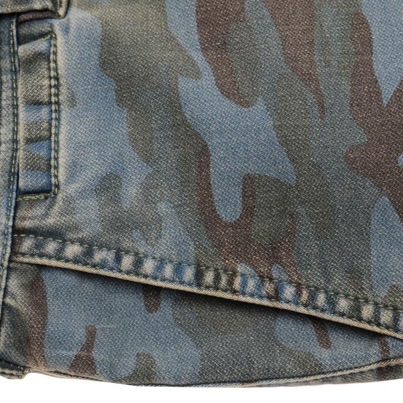 SoulCal Denim Camo Shorts Mens Camo Fade