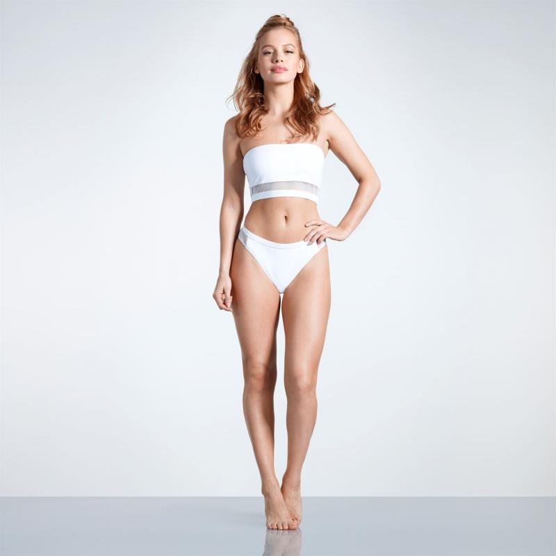 Plavky USA Pro Bardot Bikini Bottoms Ladies White